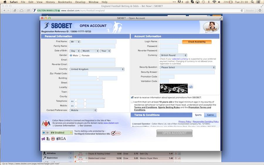 Gambling Review   SBOBET Gambling Review